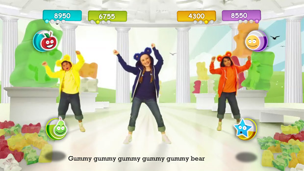 Gummibär To Be Featured In New Just Dance Kids Video Game