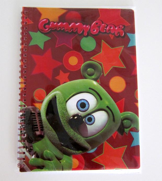 Gummibär One Subject Notebook