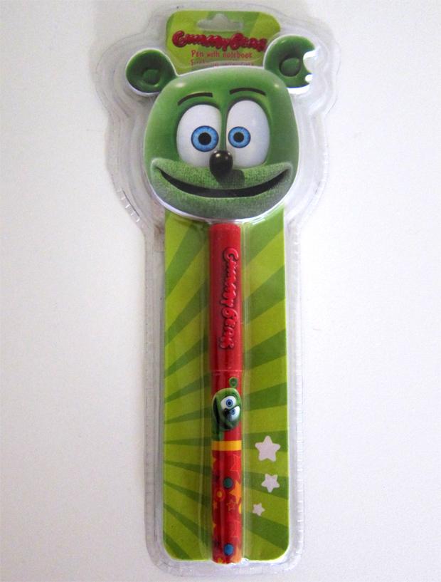Gummibär Pen With Notepad