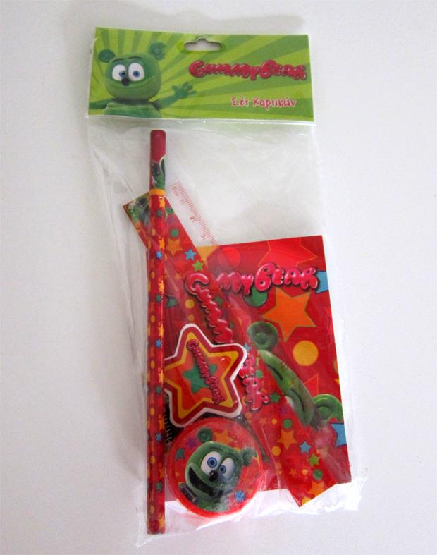 Gummibär Bagged Stationary Set