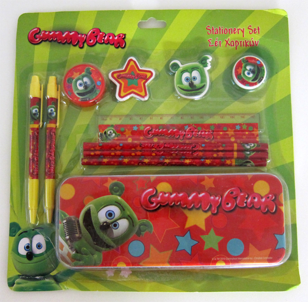 Gummibär Stationary Set