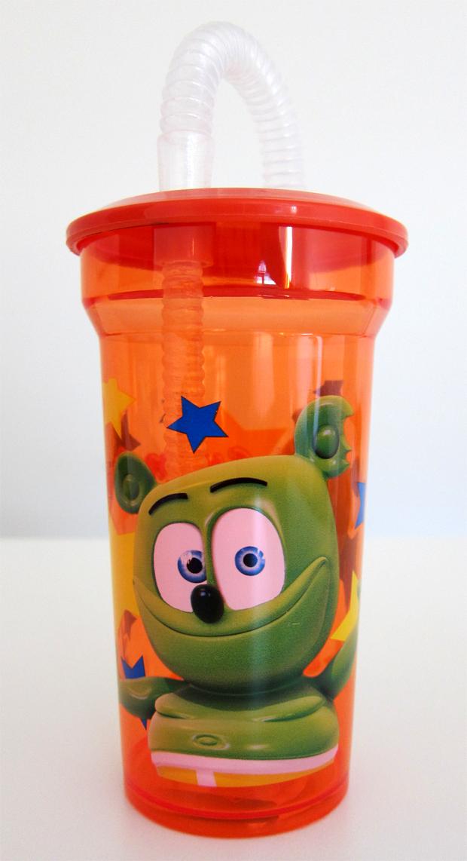 Gummibär Lidded Cup With Straw