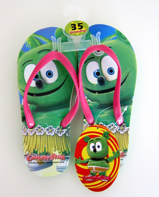 Gummibär Flip Flops