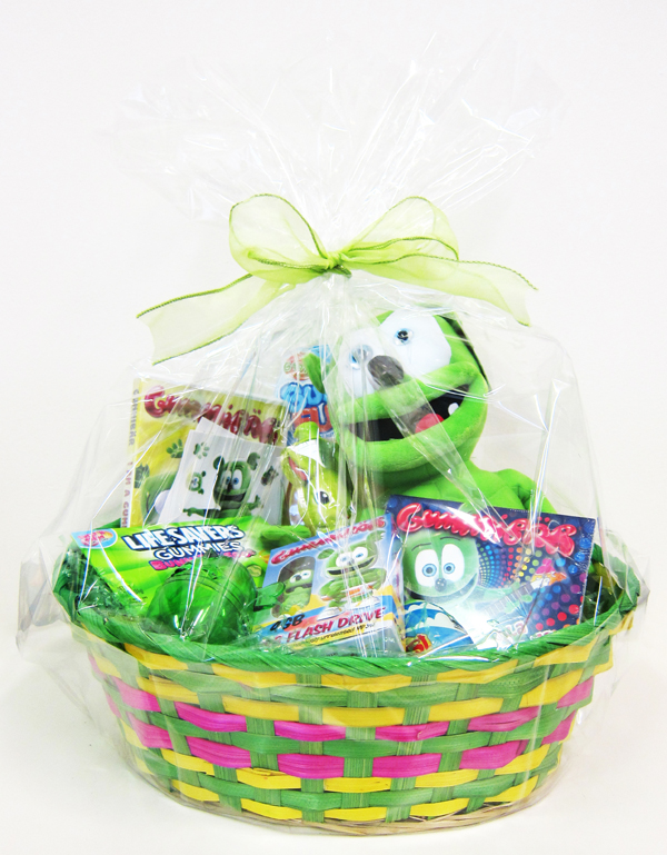 Gummybear International Gives Away Gummibär (The Gummy Bear) Character Themed Easter Baskets To Two Lucky Winners