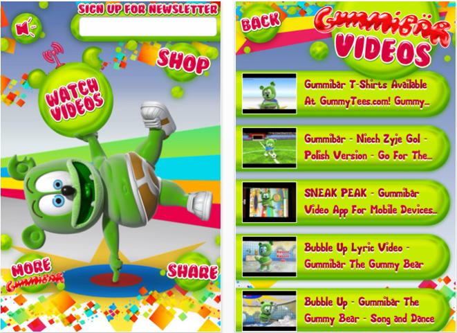 Gummibär Video Player App