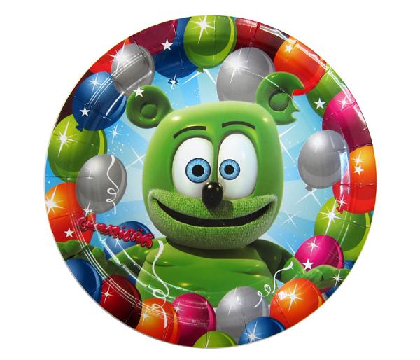 Gummibär Party Plates