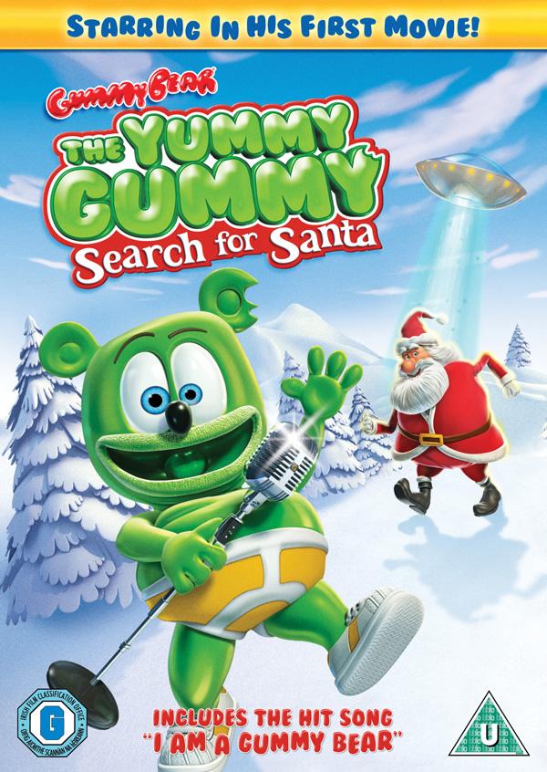 Gummibär: The Yummy Gummy Search For Santa DVD