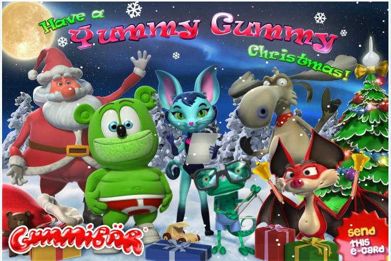 Gummybear International Announces Musical Interactive Gummibär Christmas E-Card