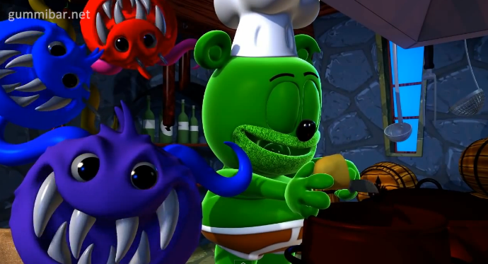 Gummibär – Monster Mash