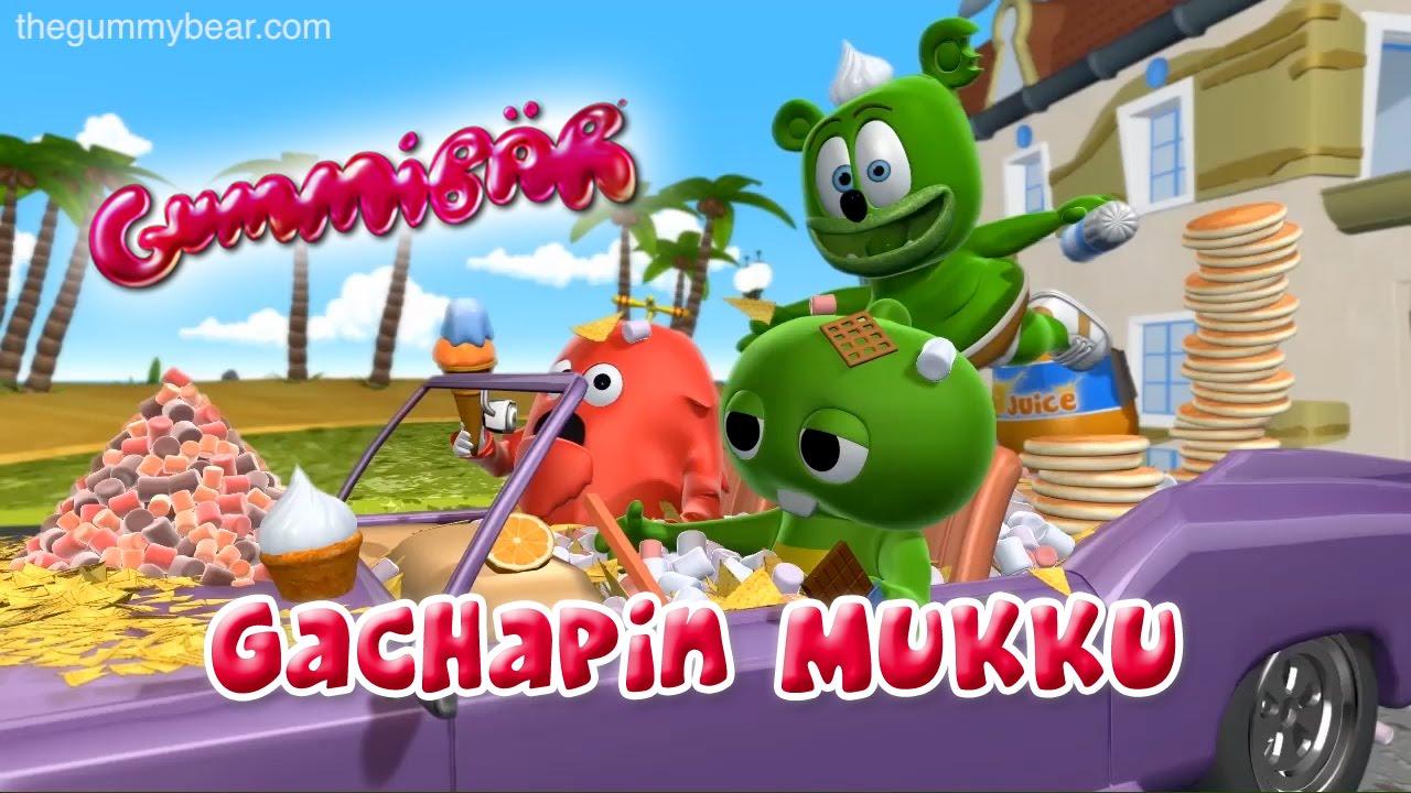 Gummibär – Gachapin Mukku