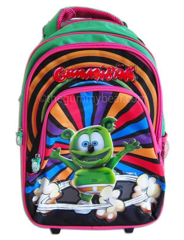 Gummibär Rolling Backpack