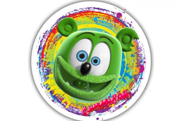 Gummibär Round Face Sticker