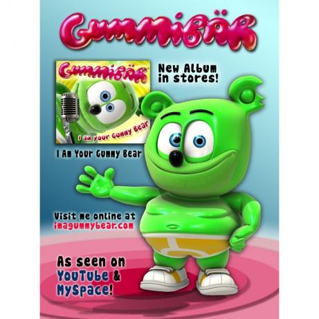 Gummibar CD Poster