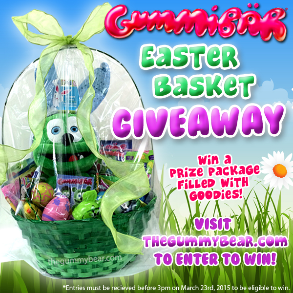 Fourth Annual Gummibär Easter Basket Giveaway Announced