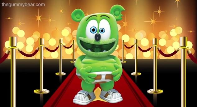 Nickelodeon Kids Choice Awards Hollywood Swag Bag Mr. Mister Gummibär
