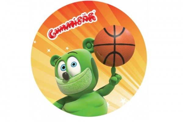 Gummibär Basketball Button