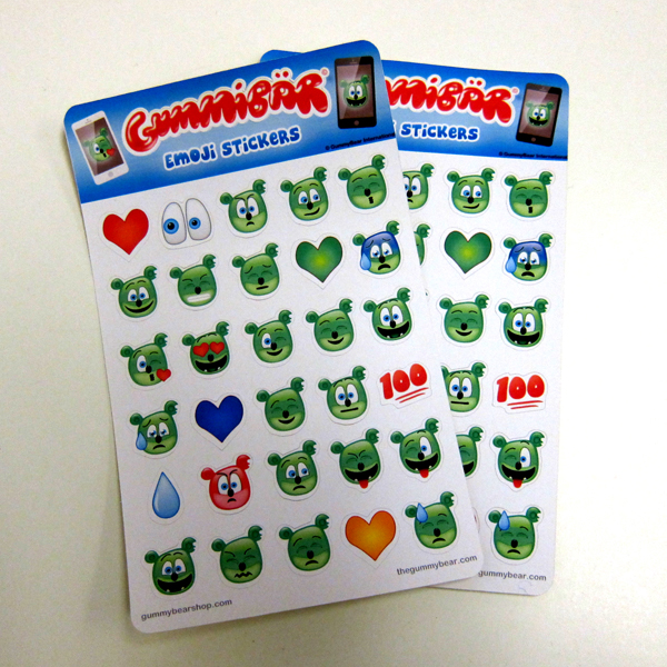 Gummibär Emoji Stickers Now Available