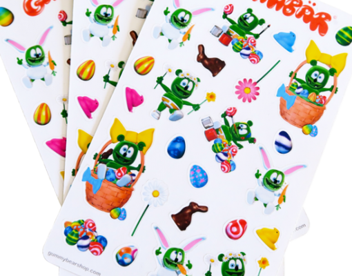 Gummibär Easter Sticker Sheets