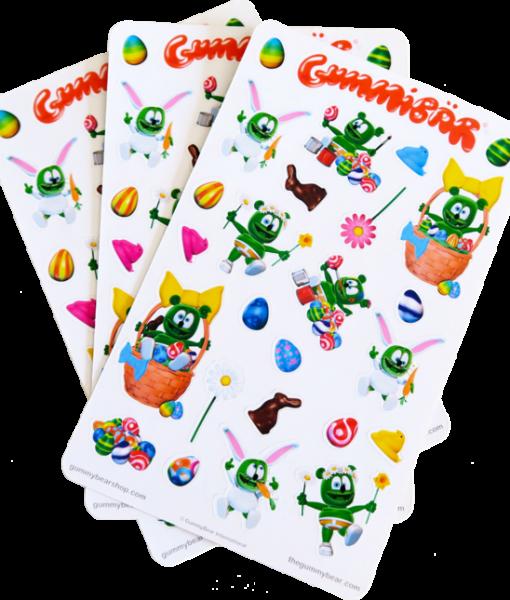 gummibar easter stickers gummybear gummy bear song