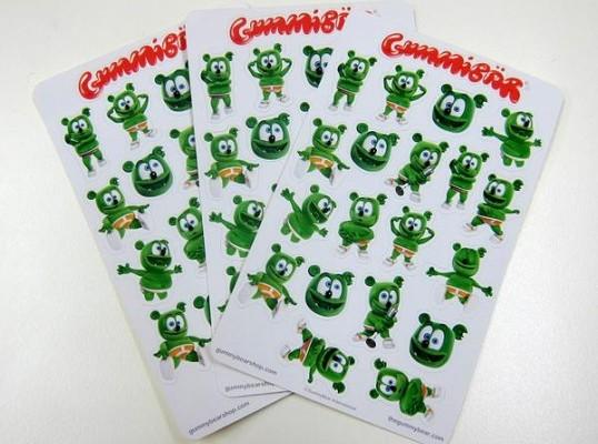 Gummibär Planner Sticker Sheets