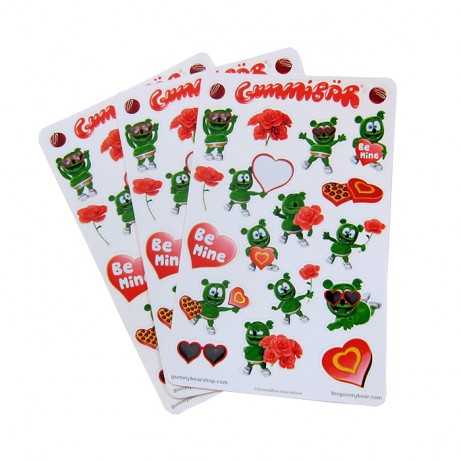 New Gummibär Valentine's Day Stickers Available