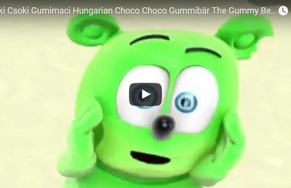 Csoki Csoki Gumimaci Hungarian Choco Choco