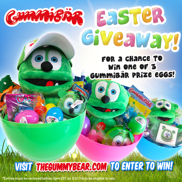 Gummybear International Announces Annual Gummibär Easter Giveaway