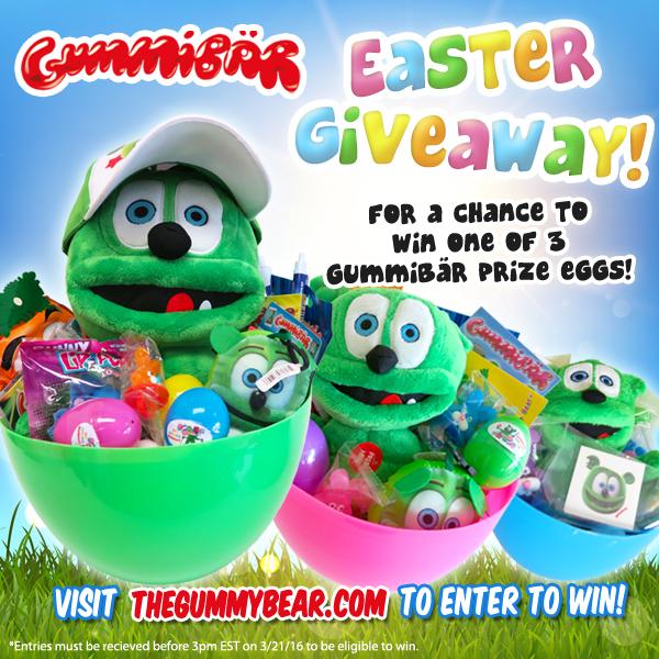 Gummybear International Announces Annual Gummibär Easter Giveaway