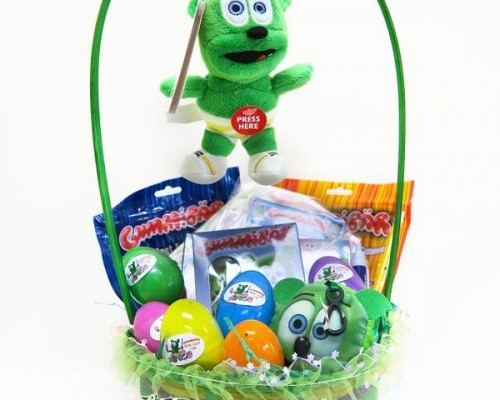 Gummibär Easter Baskets