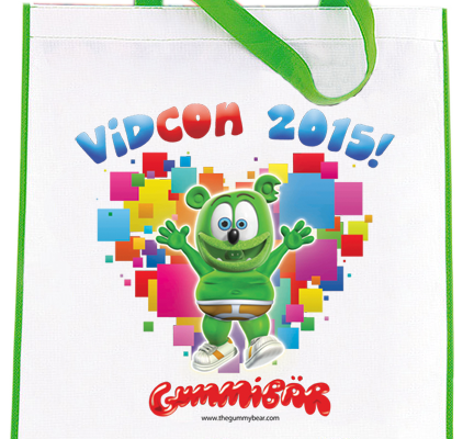 Limited Edition Gummibär VidCon 2015 Bag