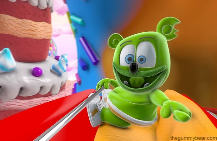 Gummybear International Releases 360 Candy Coaster Gummibär Video