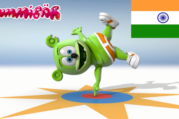 "HD Long Hindi Version of ""I Am A Gummy Bear (The Gummy Bear Song)"""