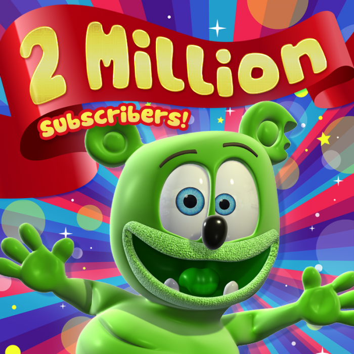 Gummybear International Celebrates 2 Million Subscribers on Gummibär YouTube Channel