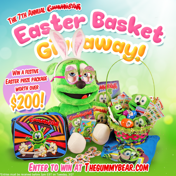 The Seventh Annual Gummibär Easter Basket Giveaway Begins