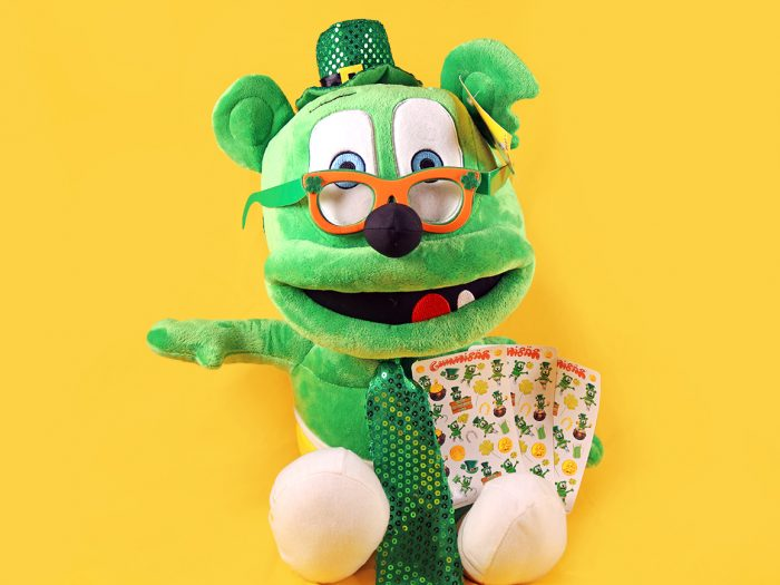 Gummybear International Announces Saint Patrick's Day Jumbo Plush Giveaway