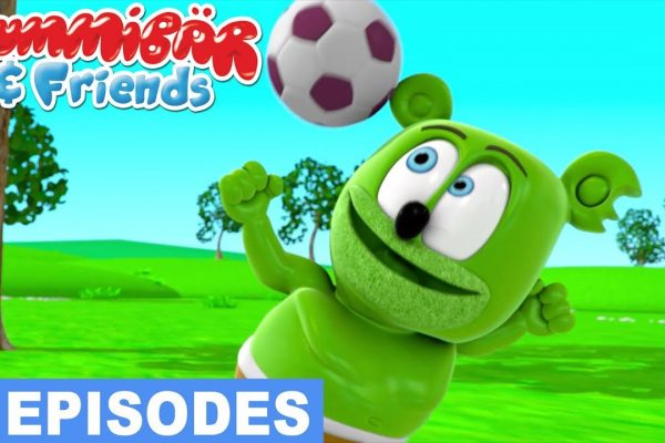 'Let's Play Sports' – Gummibär and Friends Episode Compilation