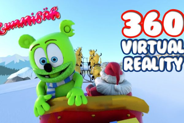 360 Virtual Reality Winter Wonderland Video