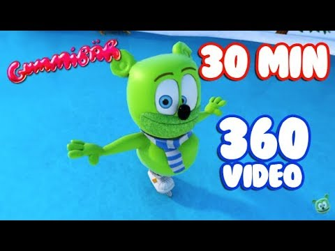 360 Virtual Reality Winter Wonderland (30 Minute Version)