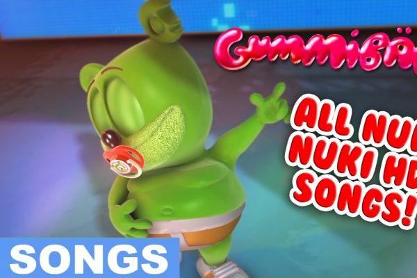 """All """"Nuki Nuki HD"""" Songs Compilation"""