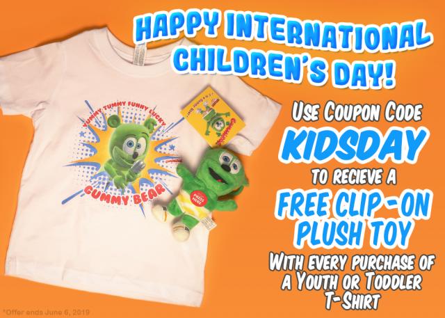 The Gummibär Shop celebrates International Children's Day!