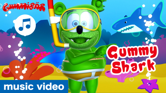 "Gummibär, The Gummy Bear, Debuts A Brand New ""Gummy Shark"" Video And Announces The First Ever ""Gummy Shark Week"" Celebration!"