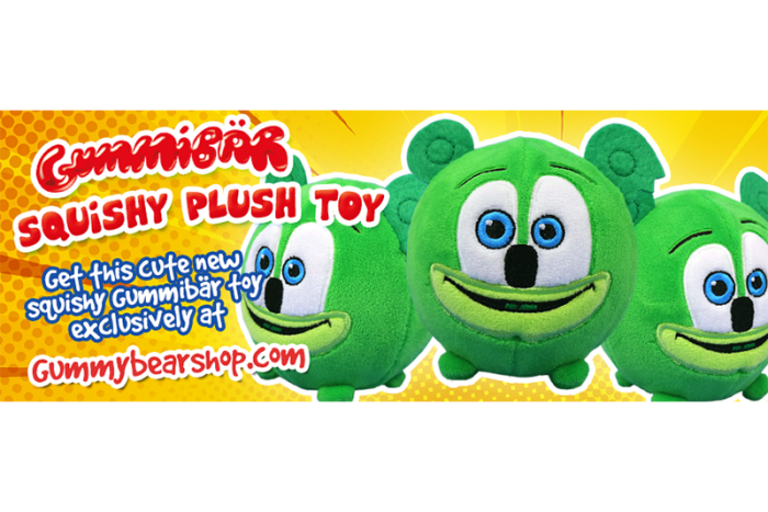 The Gummibär Shop Releases Brand New Gummibär Squishy Plush Toy!