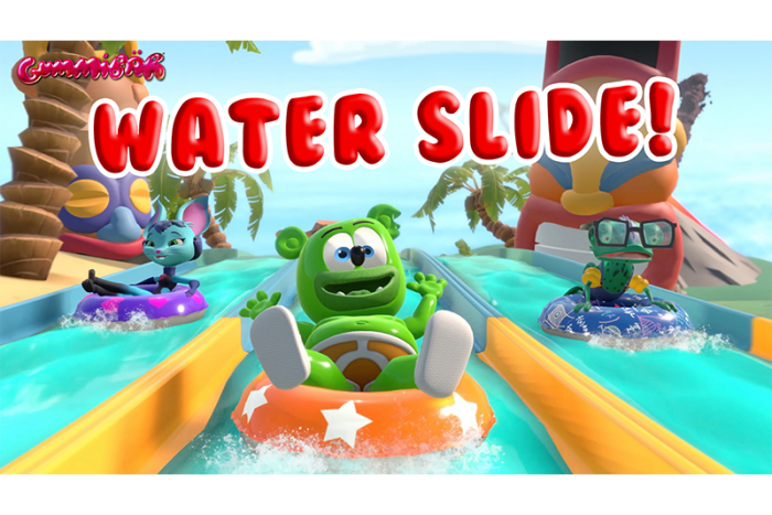 Gummibär Releases a Virtual Water Slide Point-of-View Video that's Fun for the Whole Family!